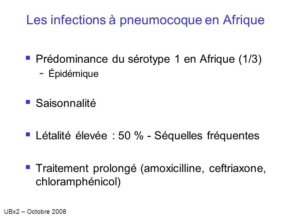 Les infections à pneumocoque en Afrique