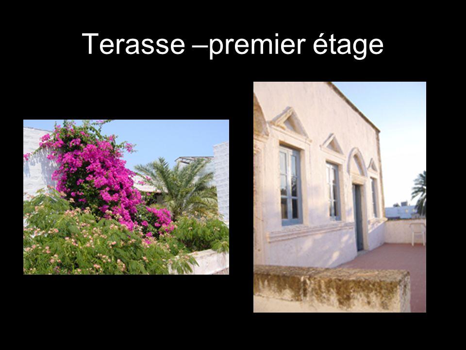 Terasse –premier étage