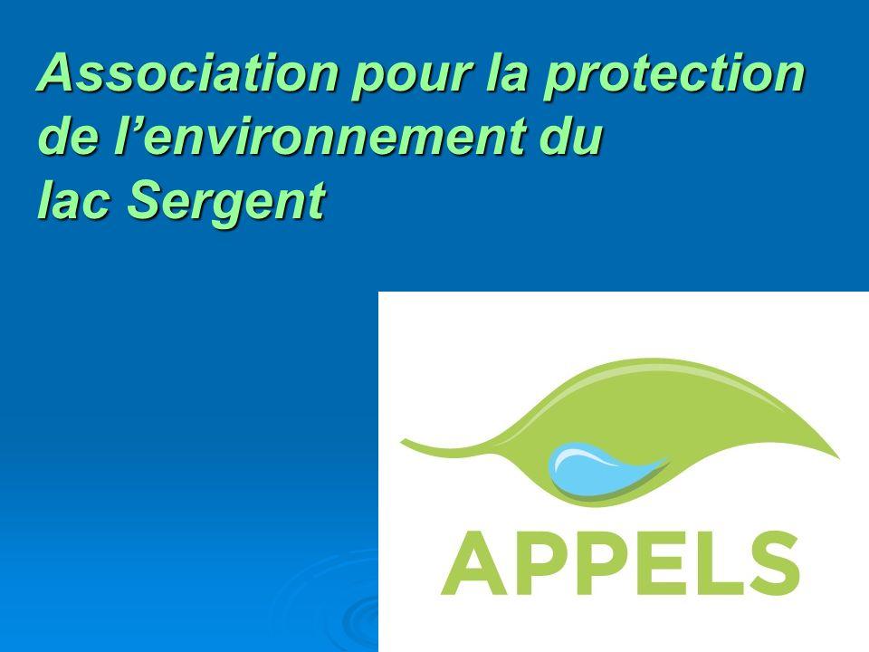 Association pour la protection de l'environnement du lac Sergent