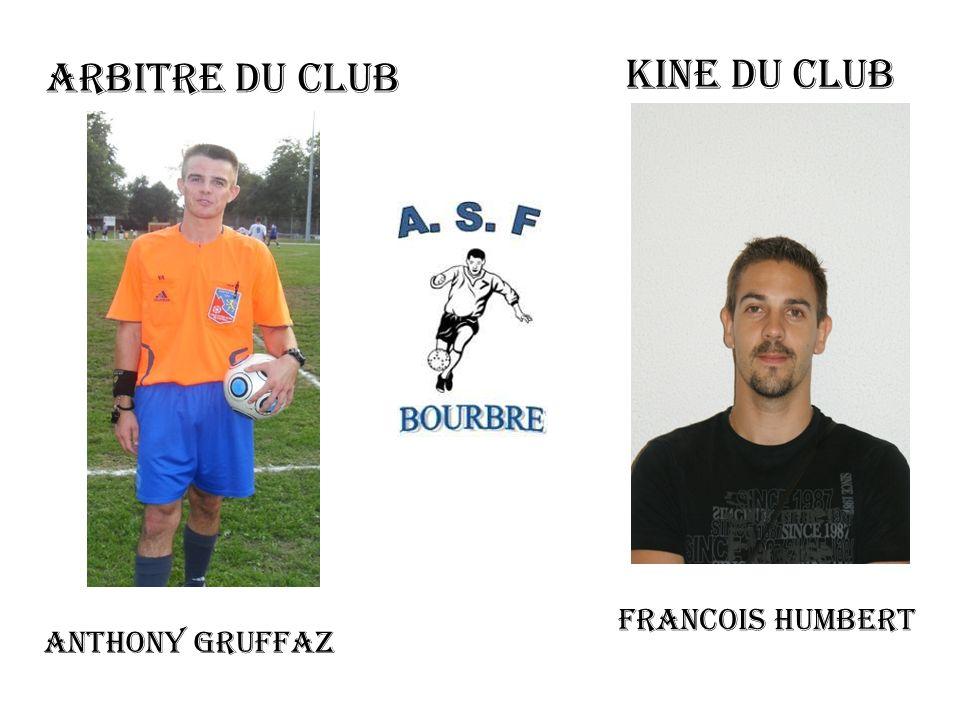 ARBITRE DU CLUB KINE DU CLUB FRANCOIS HUMBERT ANTHONY GRUFFAZ