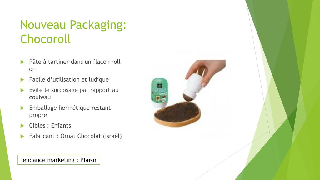 Nouveau Packaging: Chocoroll