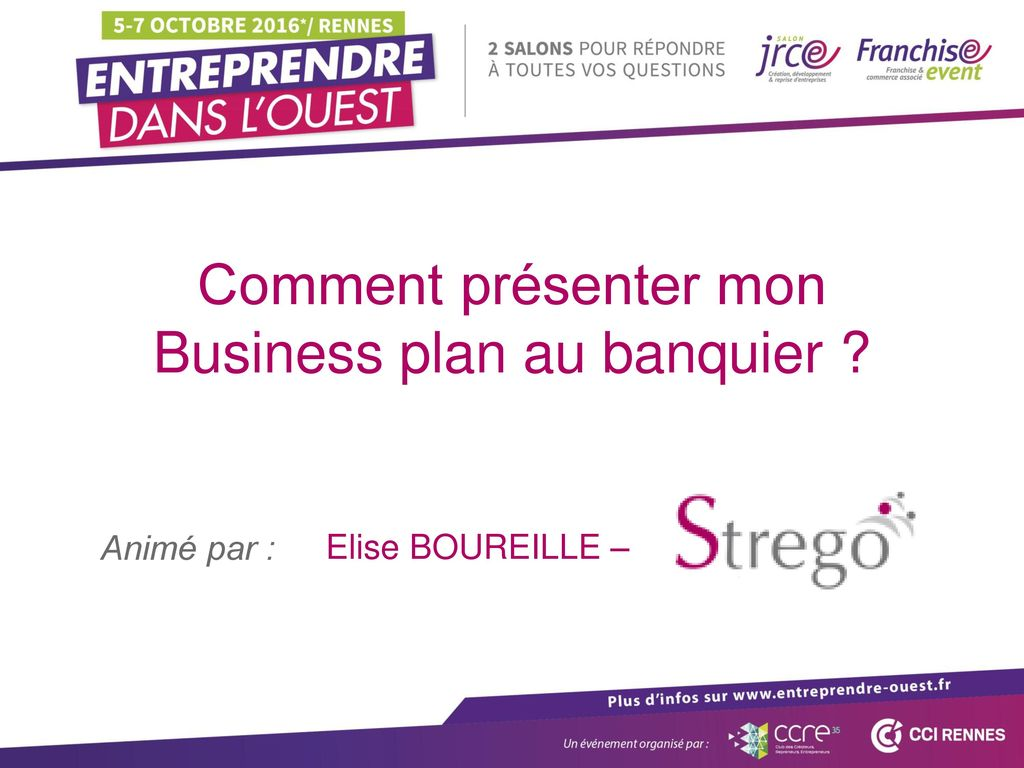 Business plan au banquier