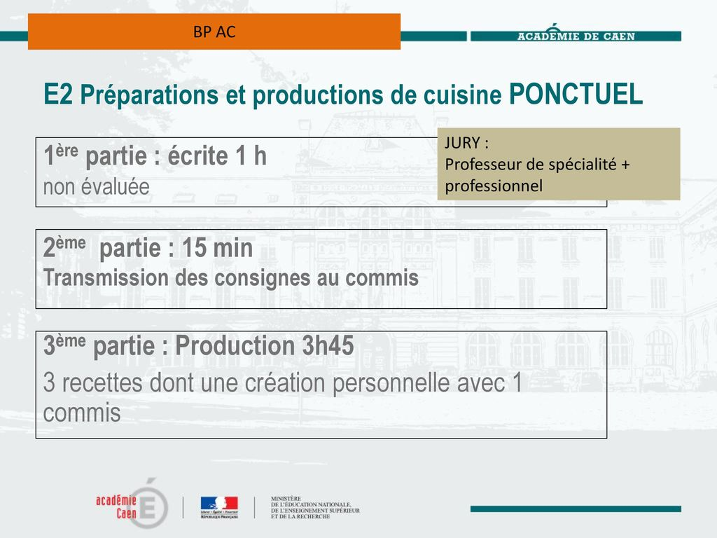 Bp arts de la cuisine bp arts du service et for Professeur de cuisine