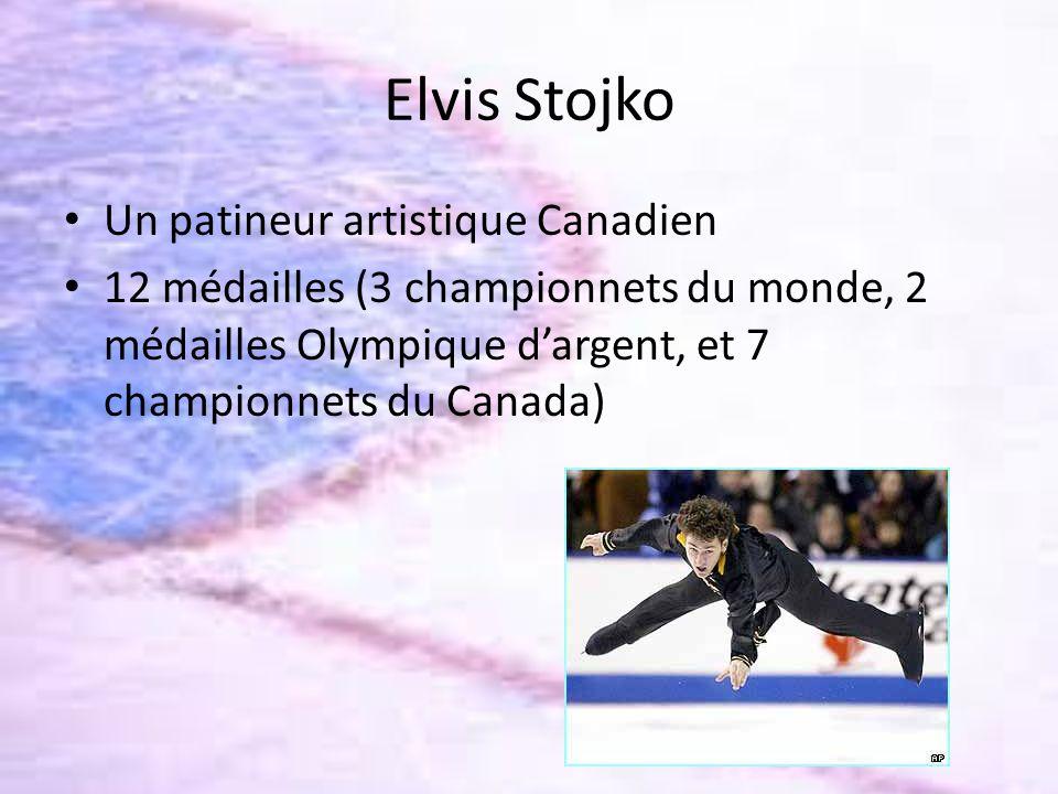 Elvis Stojko Un patineur artistique Canadien