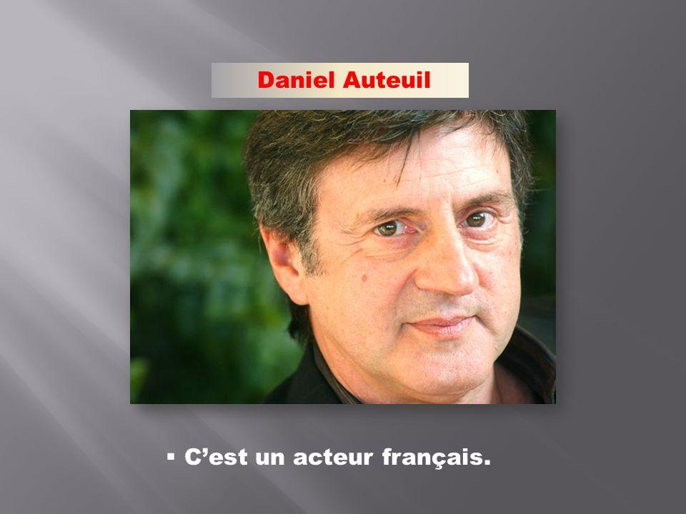 C'est un acteur français.