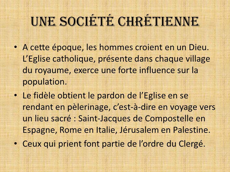 Une société chrétienne