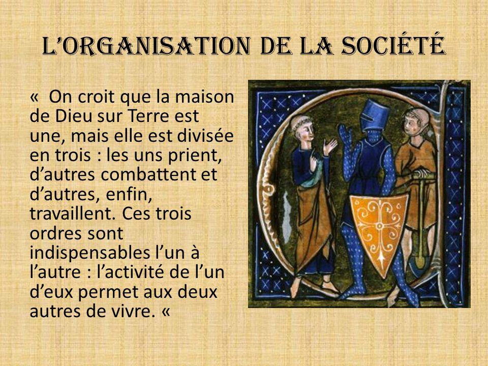 L'organisation de la société