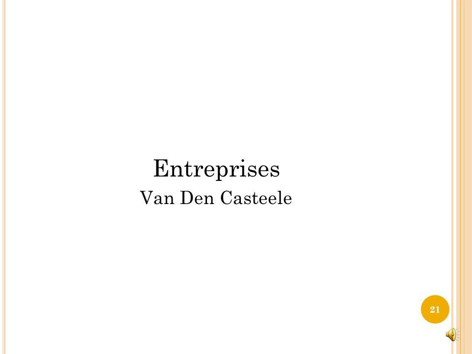 Entreprises Van Den Casteele