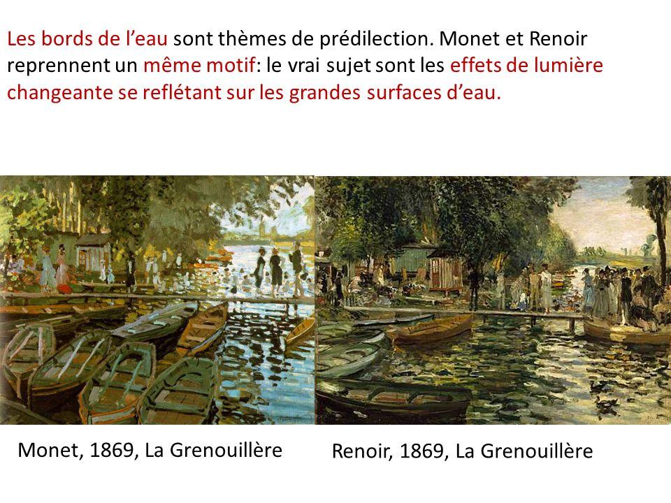 Renoir, 1869, La Grenouillère