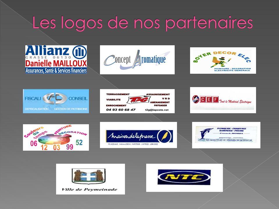 Les logos de nos partenaires