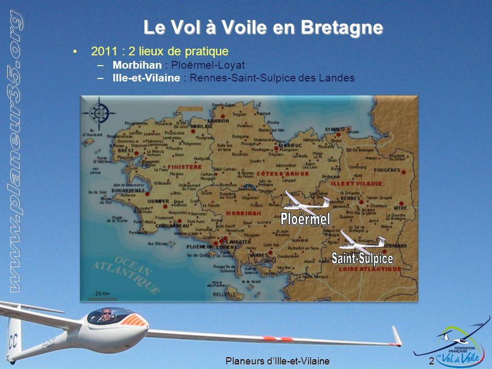 Le Vol à Voile en Bretagne