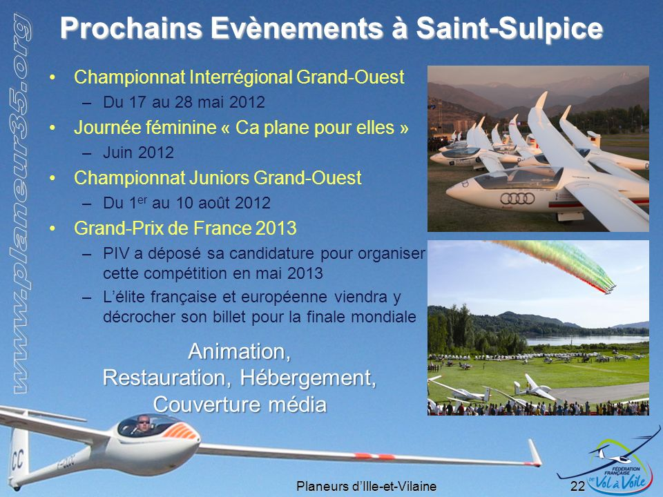 Prochains Evènements à Saint-Sulpice