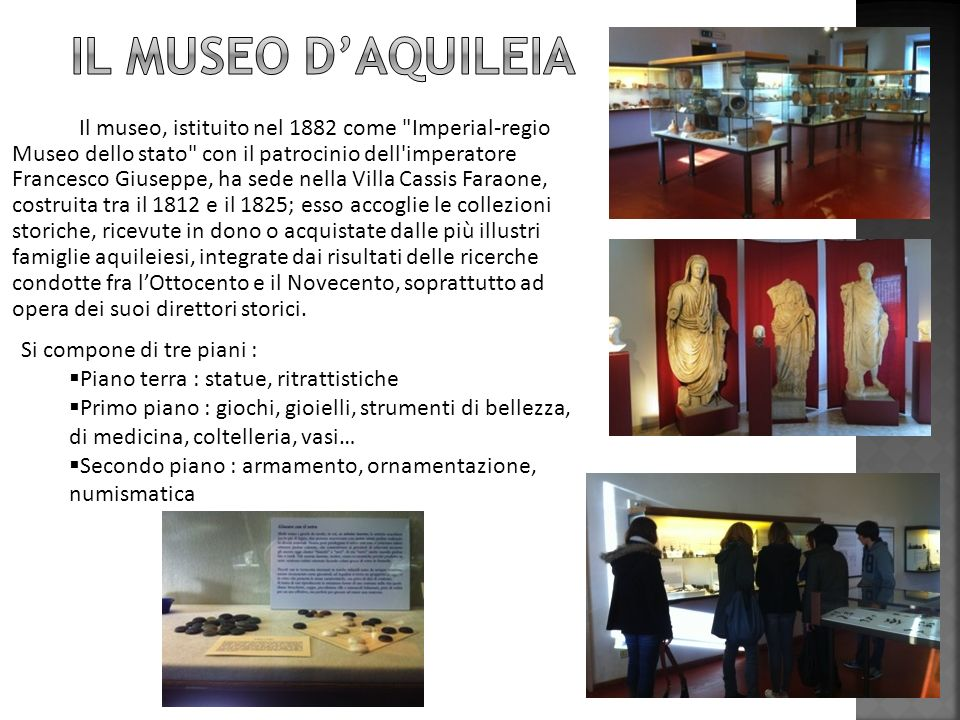 Il museo d'Aquileia