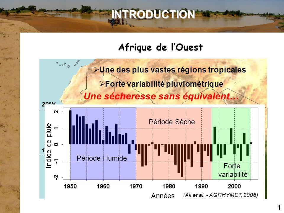 Forte variabilité pluviométrique Une sécheresse sans équivalent…