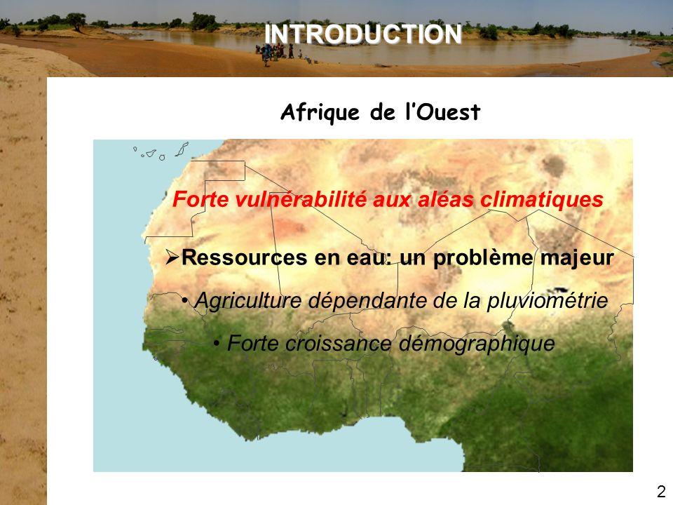 INTRODUCTION Afrique de l'Ouest