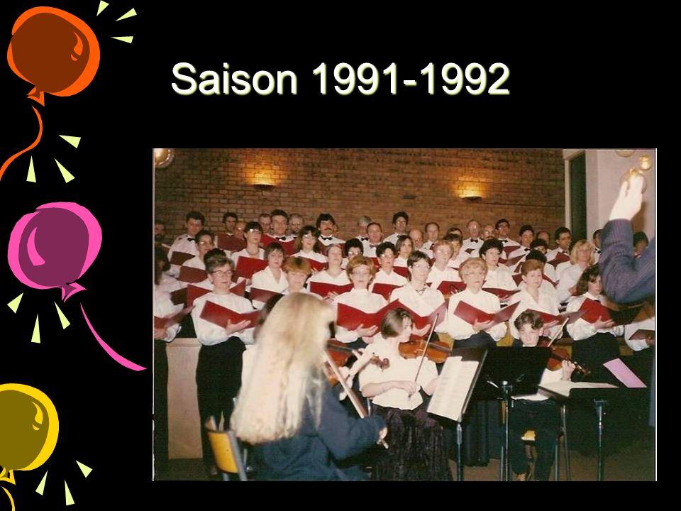 Saison 1991-1992