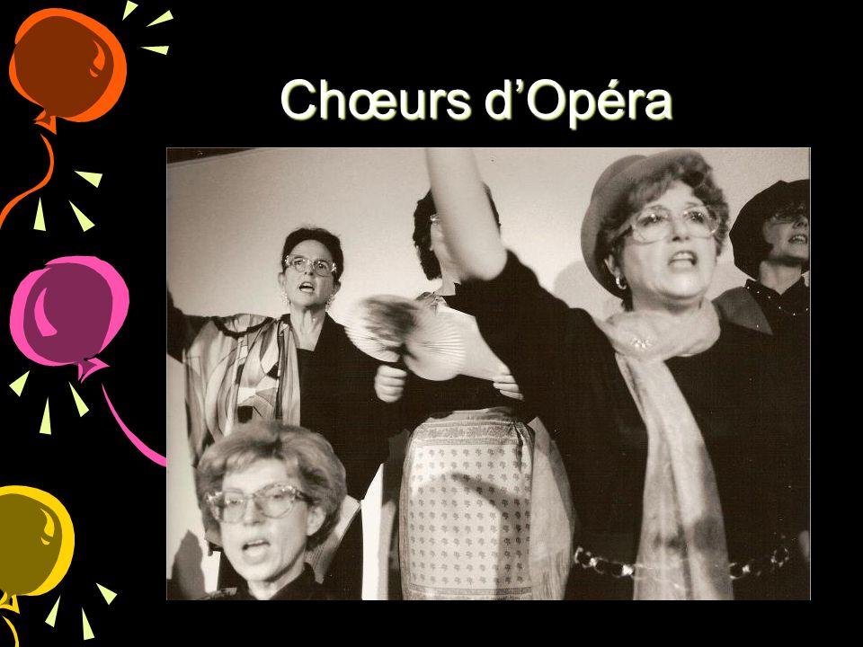 Chœurs d'Opéra