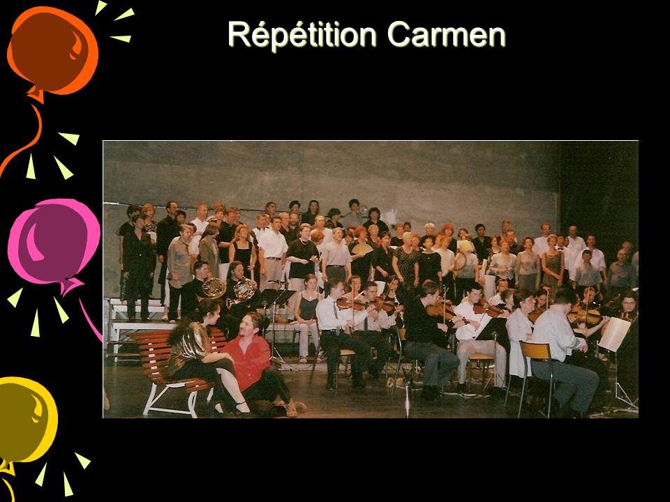 Répétition Carmen