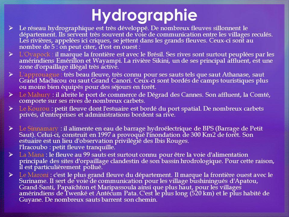 Hydrographie