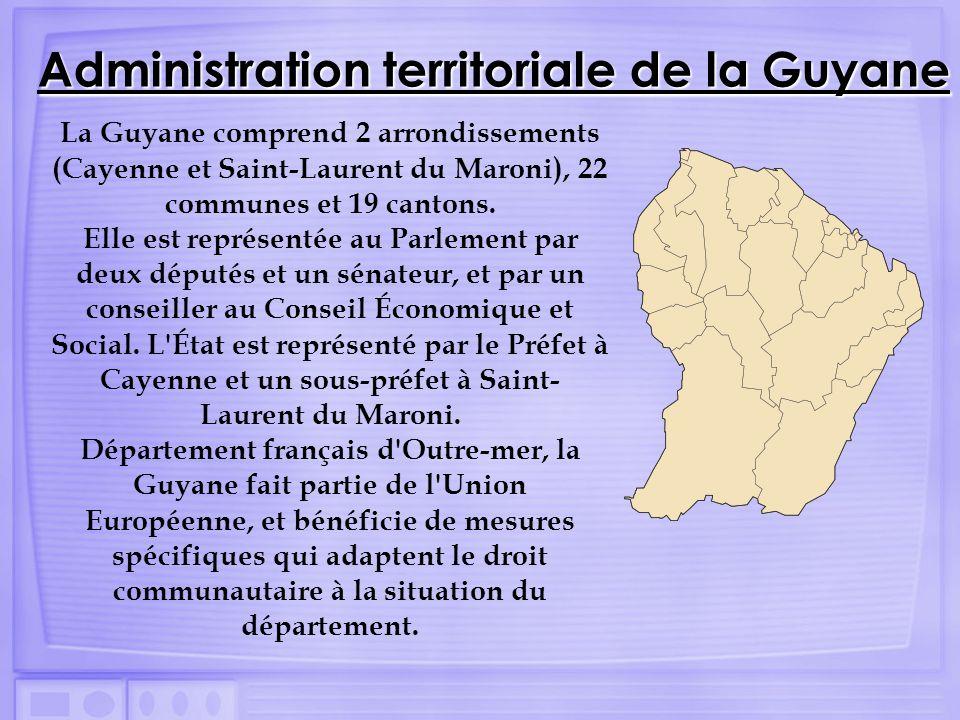 Administration territoriale de la Guyane