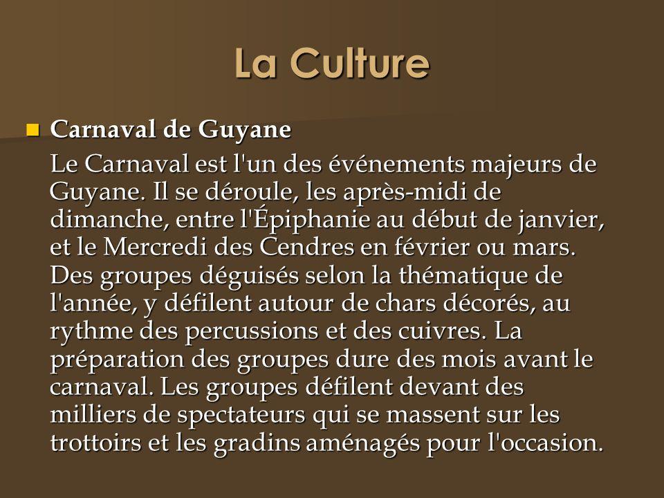 La Culture Carnaval de Guyane