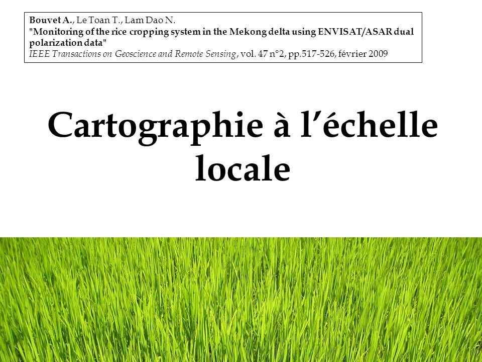 Cartographie à l'échelle locale
