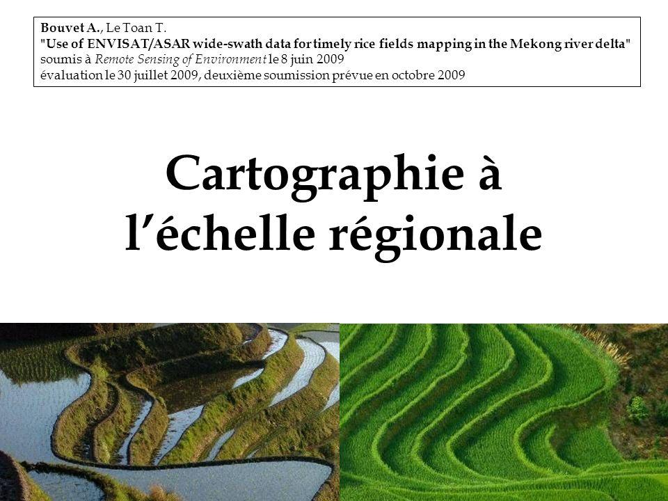 Cartographie à l'échelle régionale