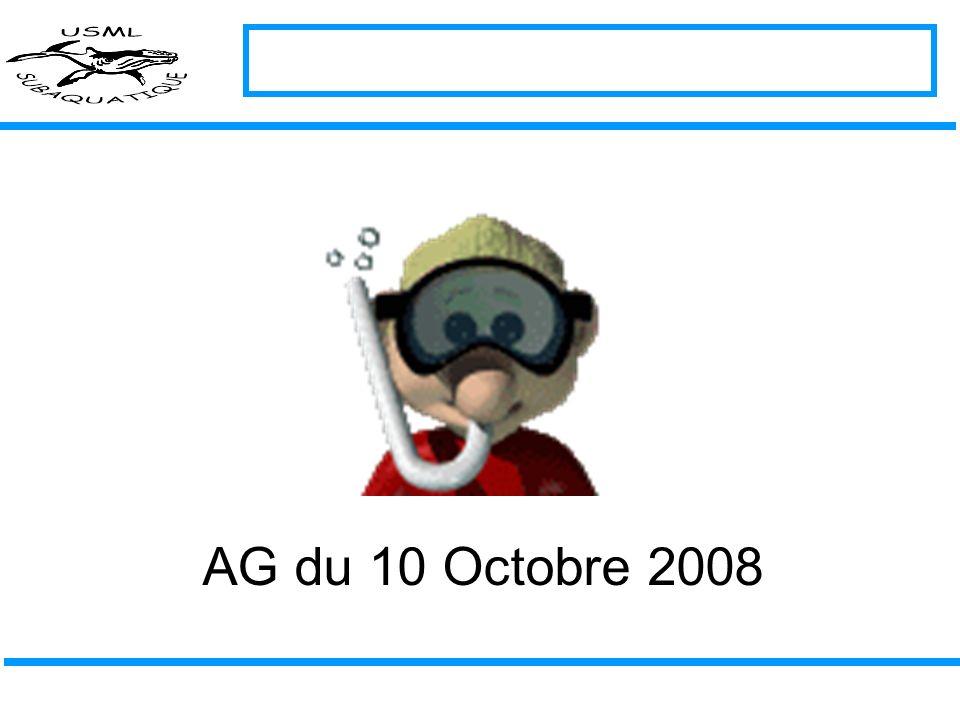AG du 10 Octobre 2008