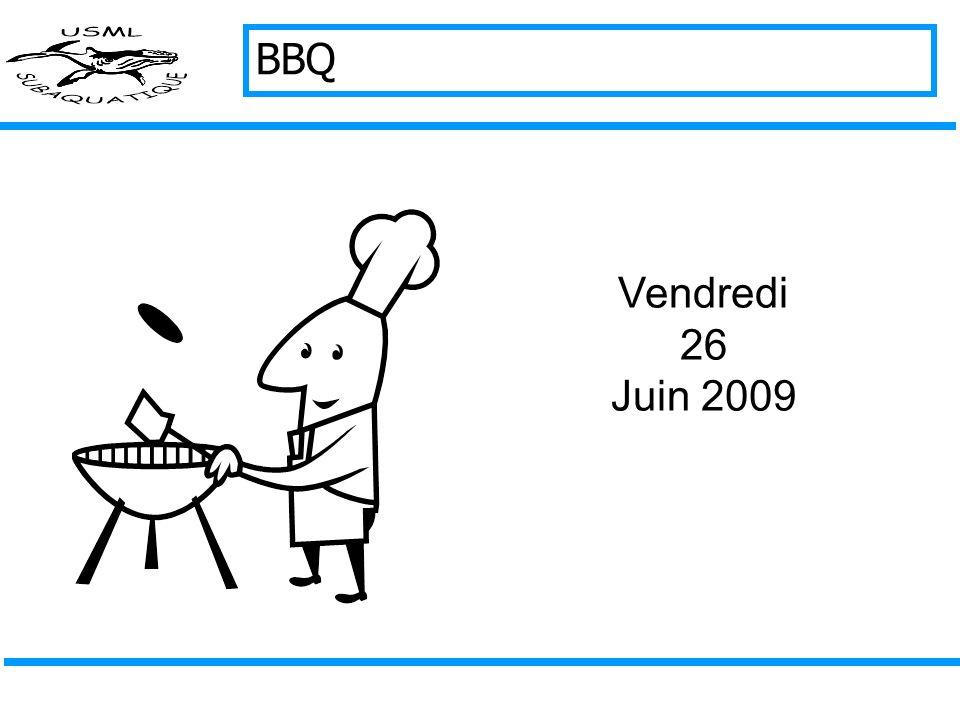 BBQ Vendredi 26 Juin 2009