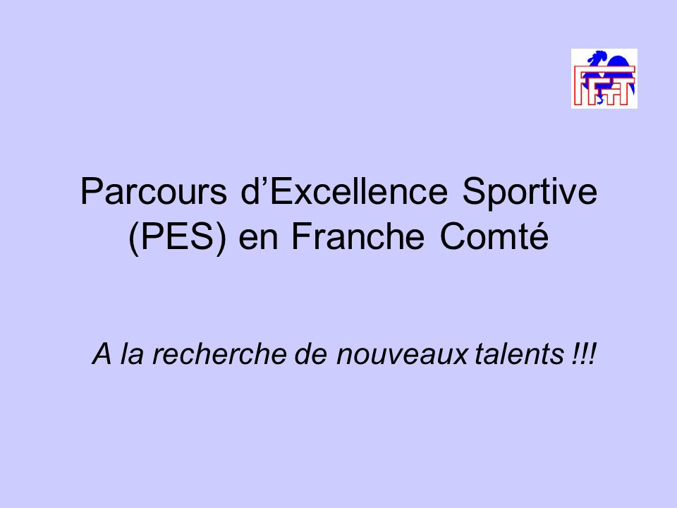 Parcours d'Excellence Sportive (PES) en Franche Comté