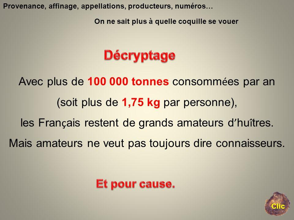 Décryptage Avec plus de 100 000 tonnes consommées par an