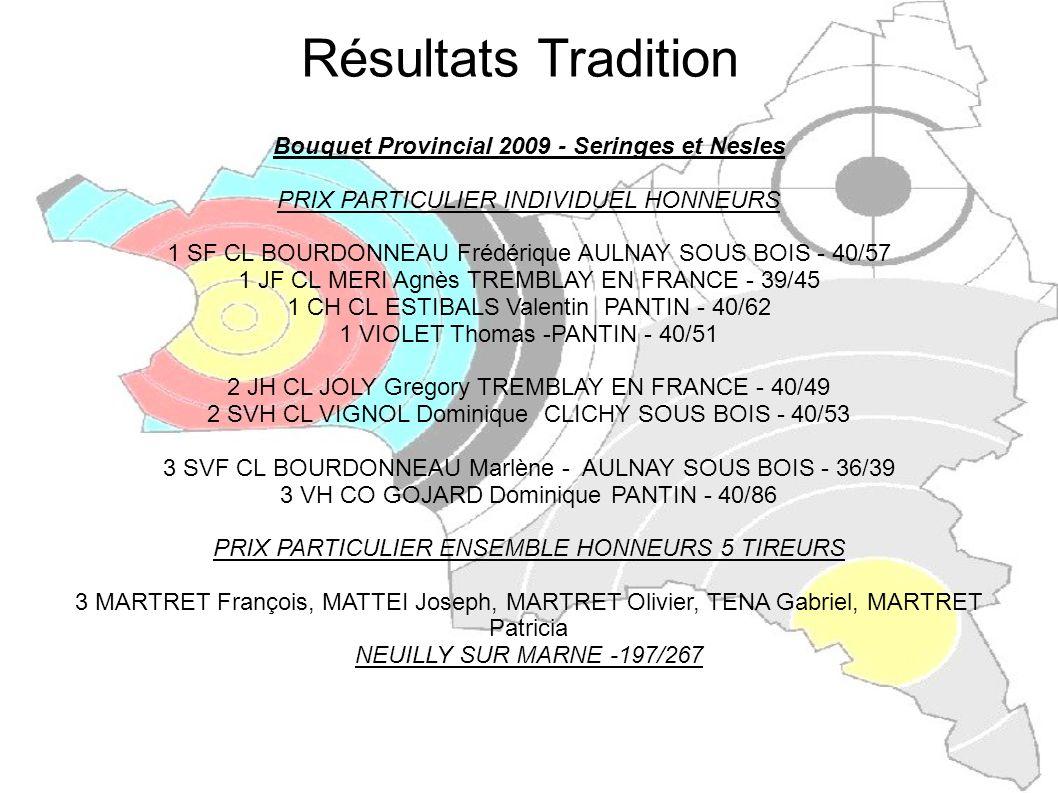 Bouquet Provincial 2009 - Seringes et Nesles