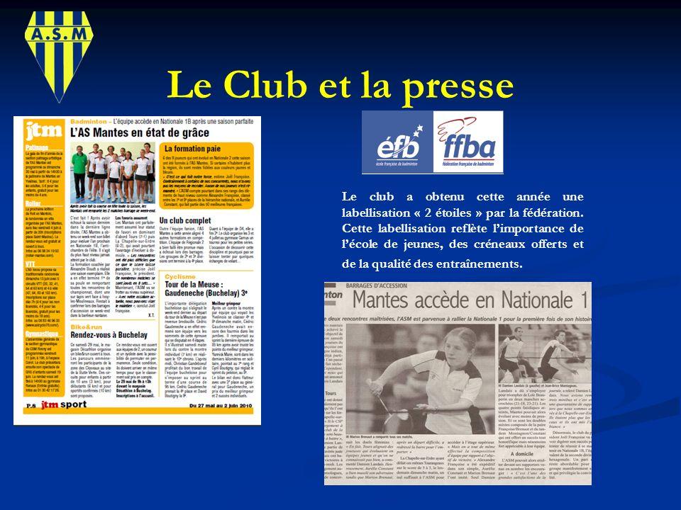 Le Club et la presse