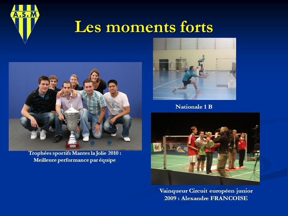 Les moments forts Nationale 1 B
