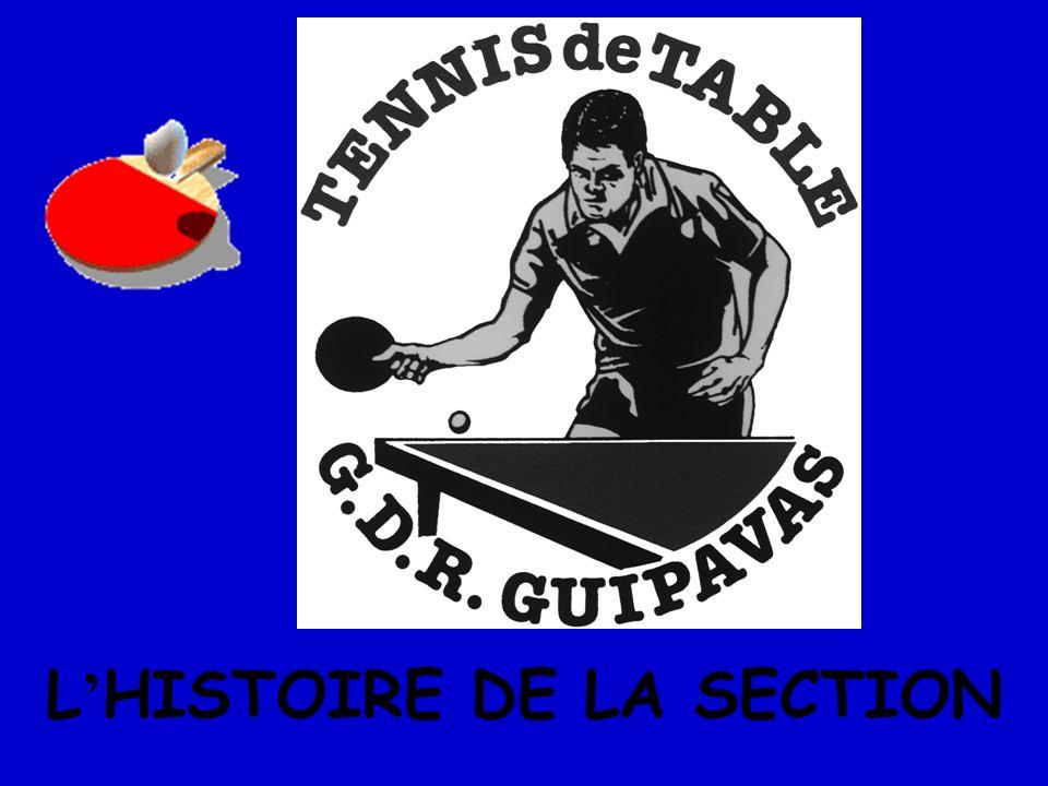 L'HISTOIRE DE LA SECTION