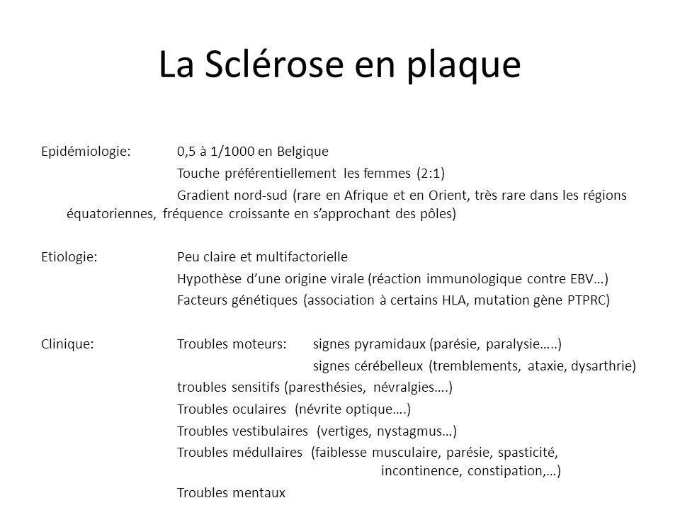 La Sclérose en plaque