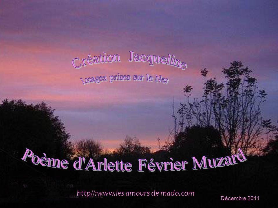 Poème d Arlette Février Muzard