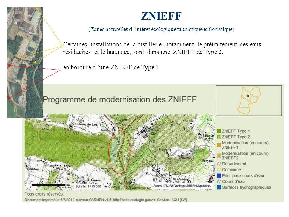 (Zones naturelles d 'intérêt écologique faunistique et floristique)