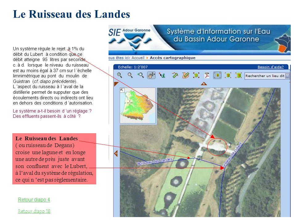 Le Ruisseau des Landes Le Ruisseau des Landes ( ou ruisseau de Degans)