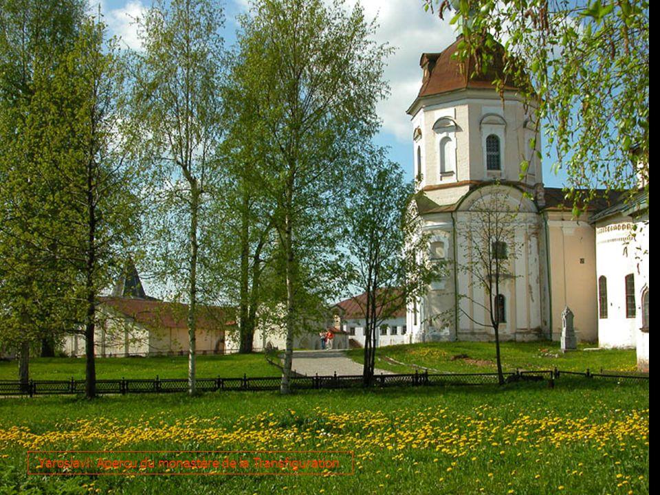 Yaroslavl: Aperçu du monastère de la Transfiguration