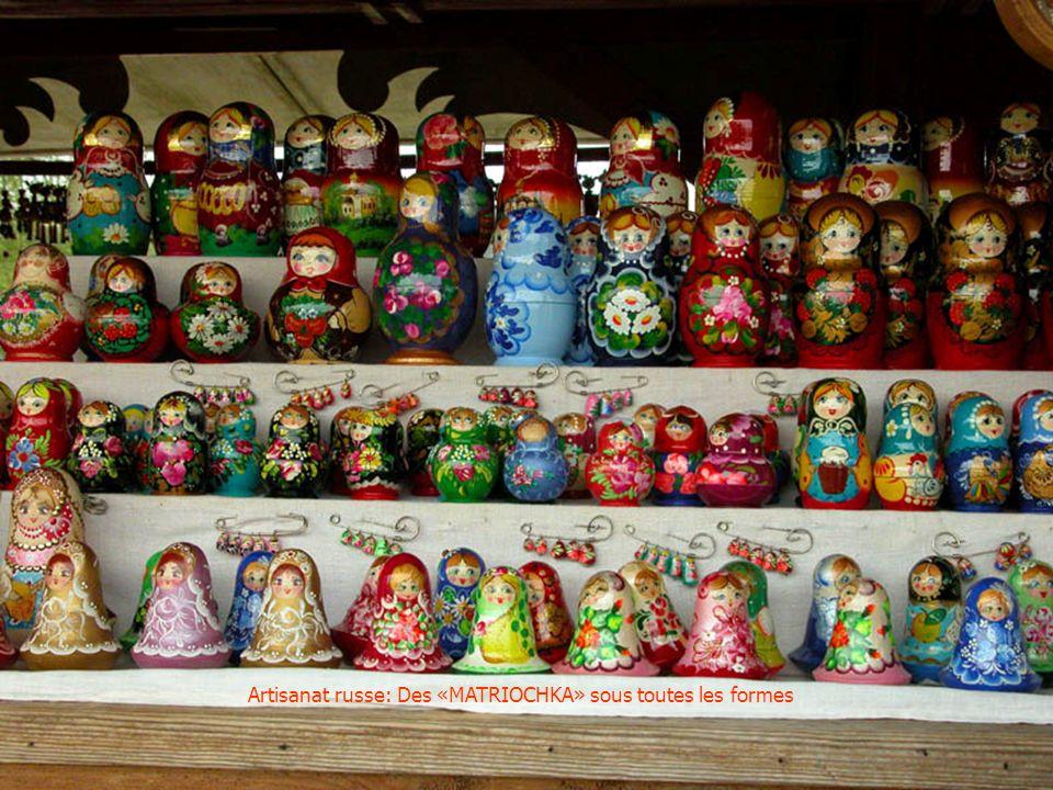 Artisanat russe: Des «MATRIOCHKA» sous toutes les formes
