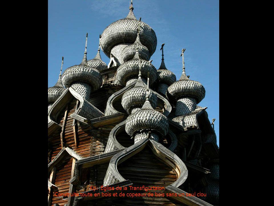 Kiji: Église de la Transfigurtaion