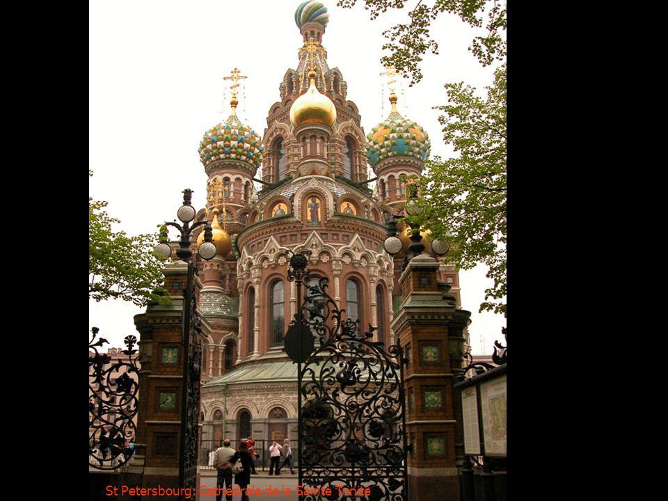 St Petersbourg: Cathédrale de la Sainte Trinité