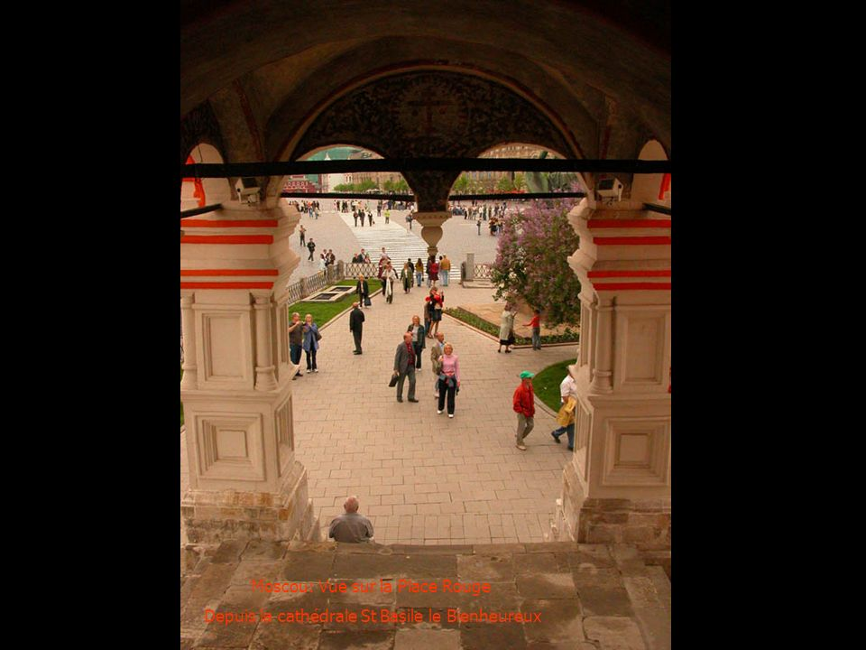Moscou: Vue sur la Place Rouge