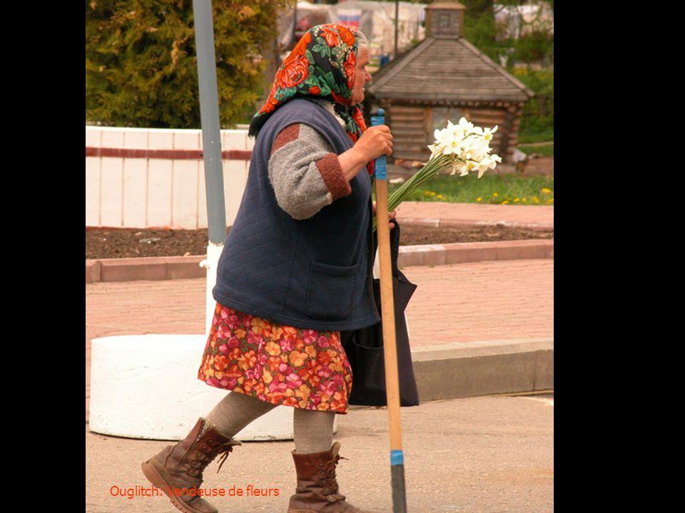 Ouglitch: Vendeuse de fleurs