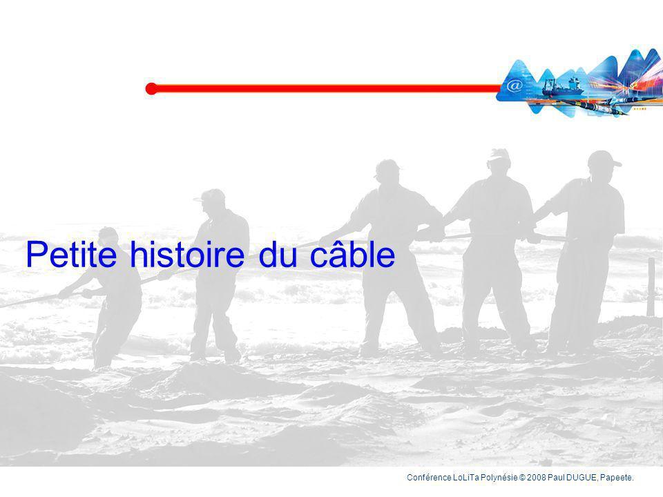 Petite histoire du câble