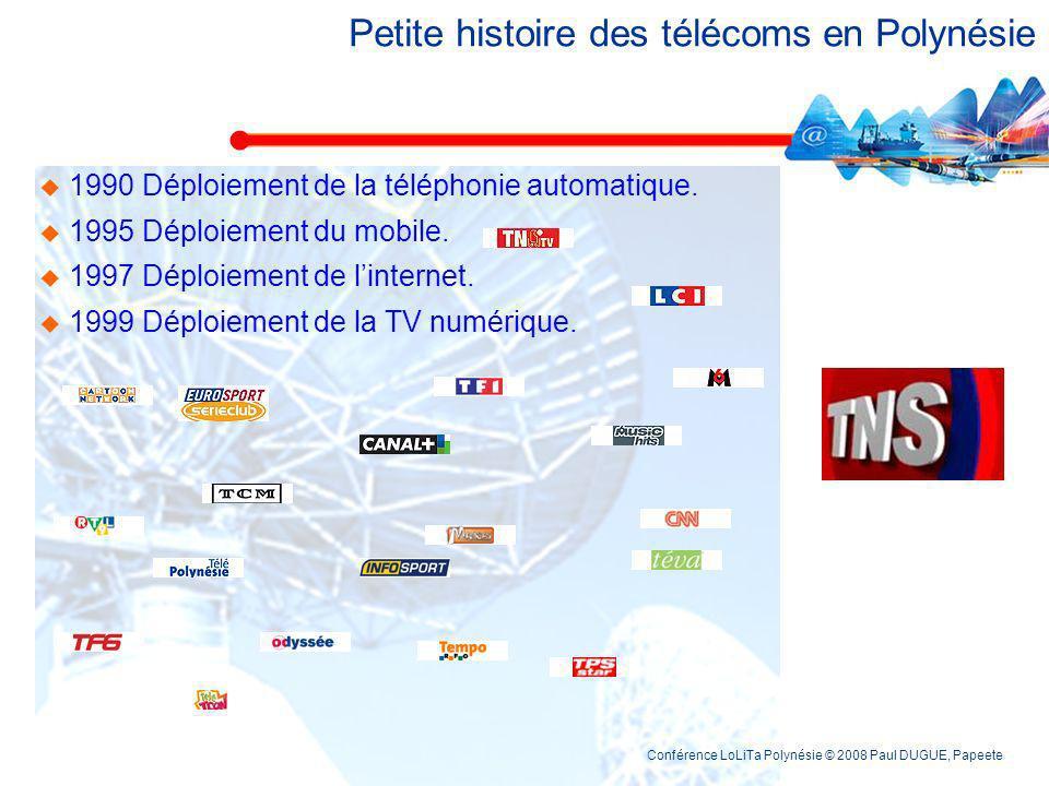 Petite histoire des télécoms en Polynésie