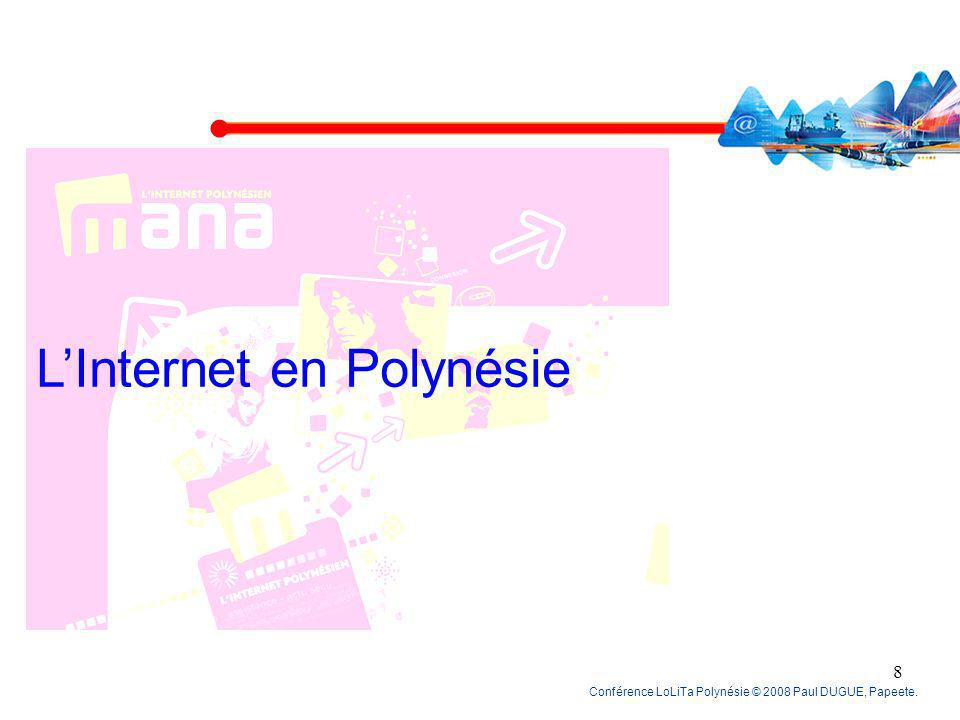 L'Internet en Polynésie