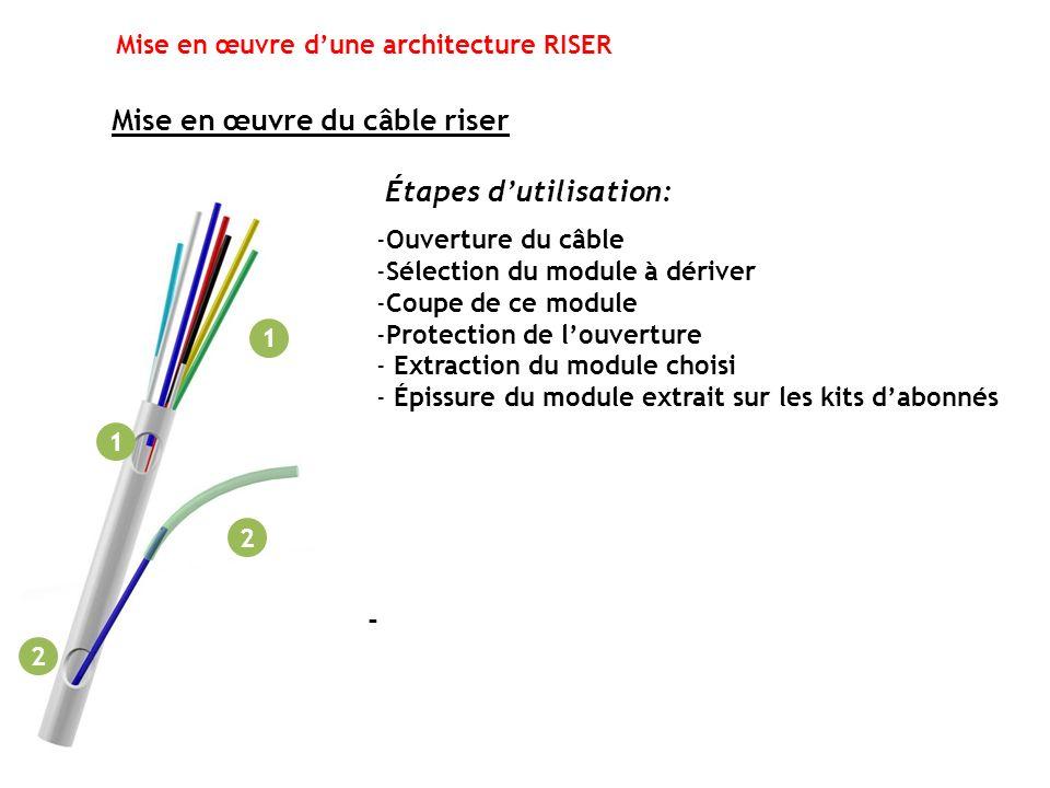 Mise en œuvre d'une architecture RISER
