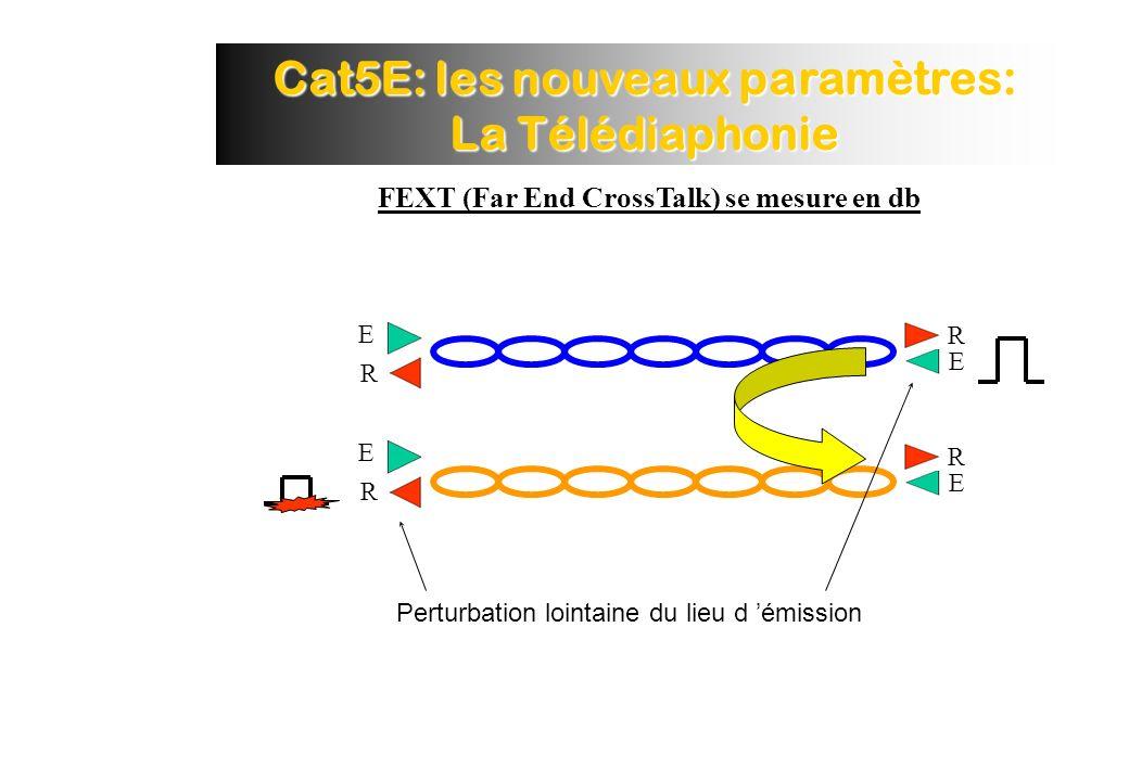 Cat5E: les nouveaux paramètres: La Télédiaphonie